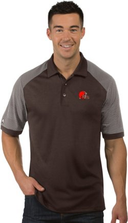 Antigua Men's Cleveland Browns Engage Polo Shirt