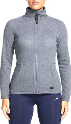 Women's Snuggle Fleece Mock Neck Jacket