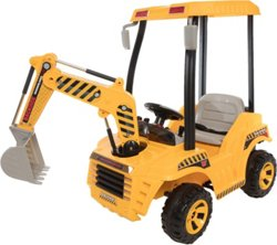 Wonderlanes Kids' 12V Ride-On Construction Back Hoe