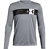 Under Armour Boys' Pixel Crossbar Long Sleeve T-shirt