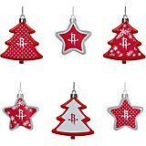 fa6bc18d2 Forever Collectibles Houston Rockets Shatterproof Tree and Star Ornament Set