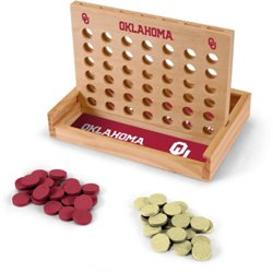 Wild Sports University of Oklahoma Table Top 4-in-a-Row Game