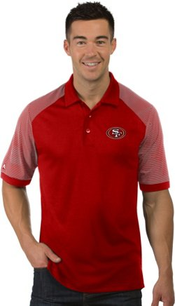 Antigua Men's San Francisco 49ers Engage Polo Shirt