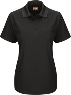 Red Kap Women's Short Sleeve Performance Knit Work Polo Shirt