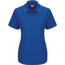 Women's Short Sleeve Performance Knit Work Polo Shirt