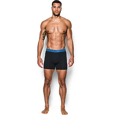 78f15c6f Under Armour Men's Charged Cotton Stretch 6 in Boxerjock Boxer Briefs 3-Pack