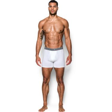 f50c1e44b861 Under Armour Men's Charged Cotton Stretch 6 in Boxerjock Boxer Briefs 3-Pack