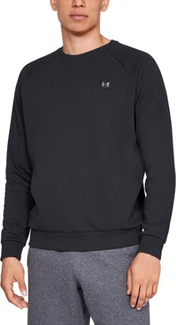 Under Armour Men's Rival Fleece Long Sleeve Crew Top