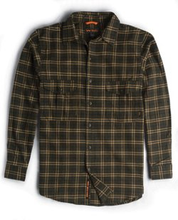 Men's Heavyweight Brushed Flannel Shirt