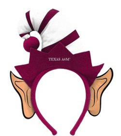 Forever Collectibles Texas A&M University Elf Ears Headband