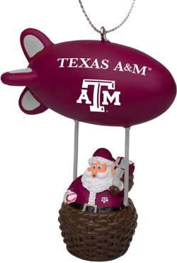 Forever Collectibles Texas A&M University Santa Blimp Ornament