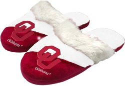 Forever Collectibles Women's University of Oklahoma Script Big Logo Slippers