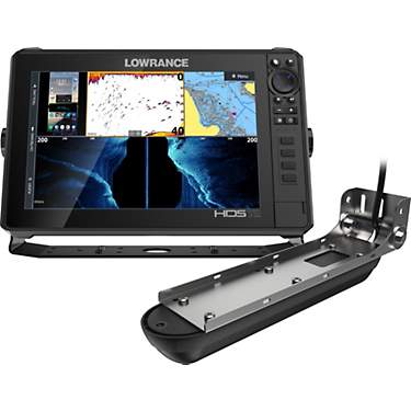 Lowrance HDS LIVE 12 in GPS Fishfinder with Active Imaging 3-in-1
