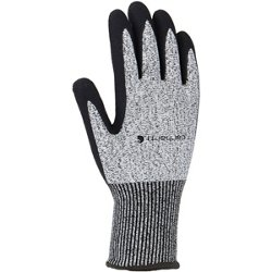 Men's Cut-Resistant Sandy Nitrile Grip Gloves