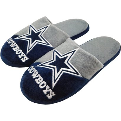 122c38d97df ... Forever Collectibles Men s Dallas Cowboys Colorblock Slide Slippers. Dallas  Cowboys Tailgating   Accessories. Hover Click to enlarge