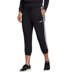 adidas Women's Essentials 3 Stripes 3/4 Length Pants