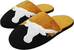 Forever Collectibles Men's University of Texas Colorblock Slide Slippers