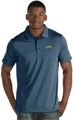 Antigua Men's Los Angeles Chargers Quest Polo Shirt