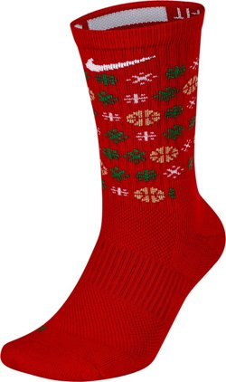 Nike Elite Holiday Basketball Crew Socks