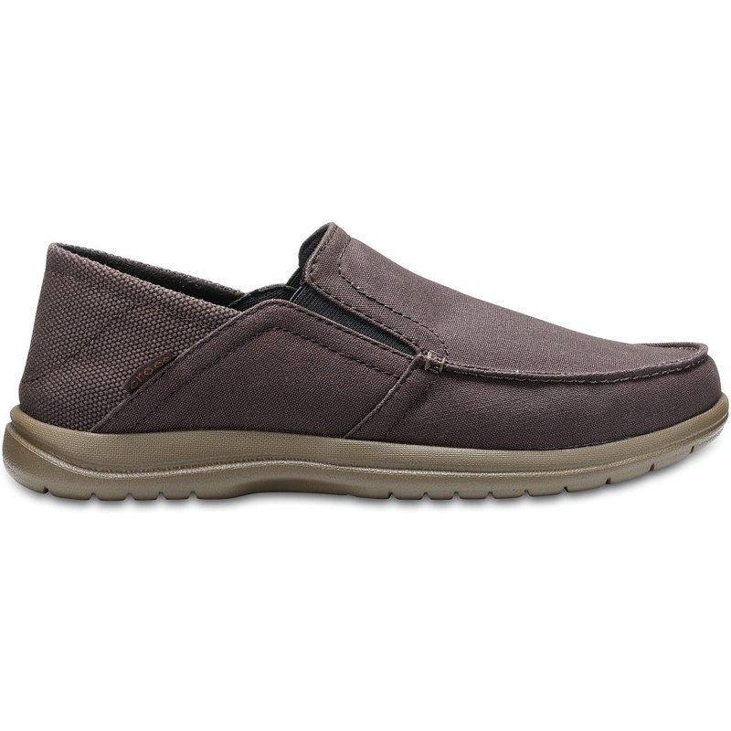 1f0d9b75cc0 Crocs Men's Santa Cruz Convertible Slip-On Shoes Espresso/Walnut, 10 - Men's