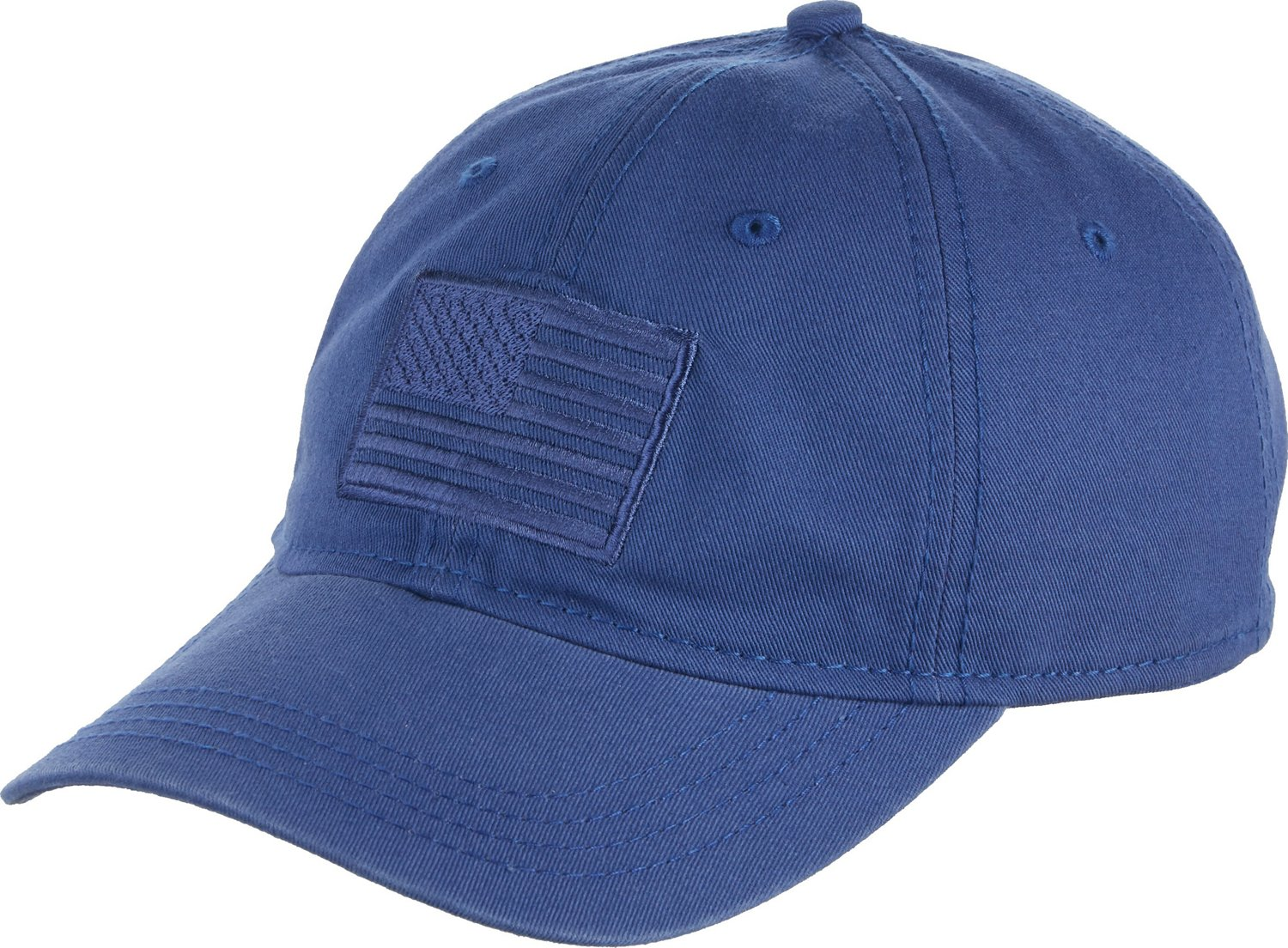 Display product reviews for Academy Sports + Outdoors Men s Tonal American  Flag Solid Twill Hat e320b4c83bd1