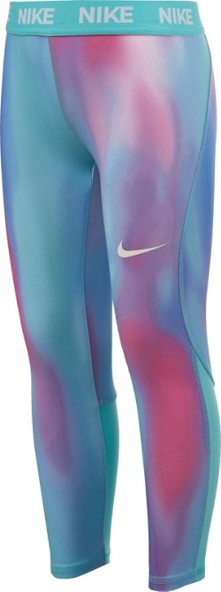 Nike Girls' 4-7 Dri-FIT AOP Leggings