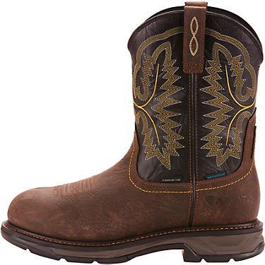 ce5b2d290cf Ariat Men's WorkHog XT H2O EH Carbon Toe Wellington Work Boots