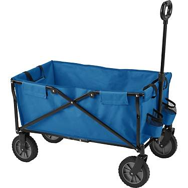 Academy Sports + Outdoors Folding Sports Wagon with Removable Bed