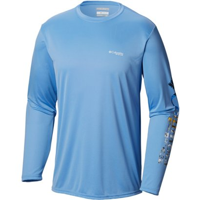 70d947cc Columbia Sportswear Men's Terminal Tackle PFG Sleeve Long Sleeve Shirt