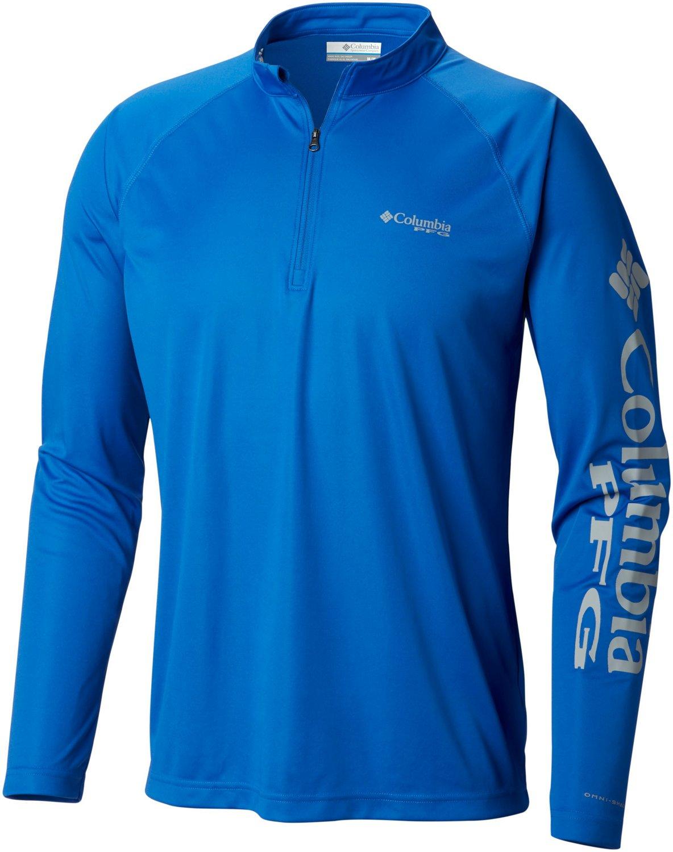 Display product reviews for Columbia Sportswear Men s Terminal Tackle 1 4  Zip Sport Top 76ffb0dca2baa