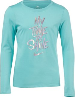 Nike Girls' Shine Verb Long Sleeve T-shirt