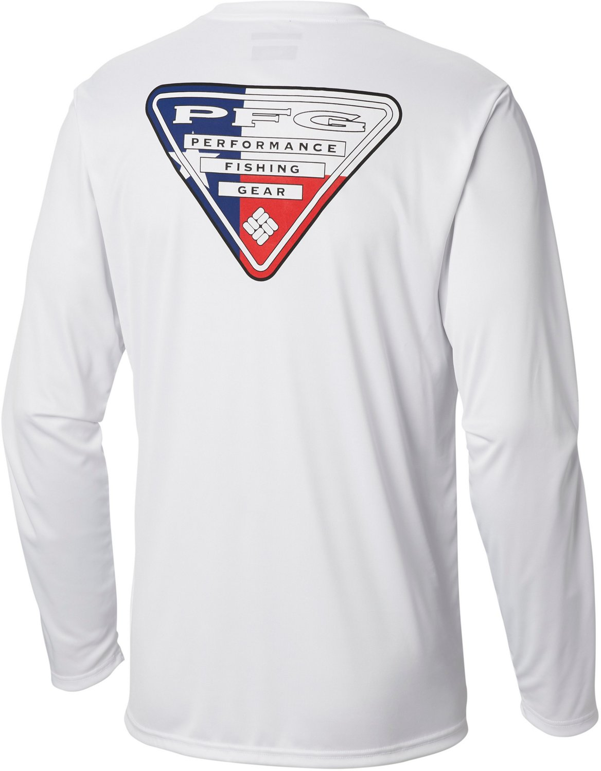 c1207ebb Columbia Sportswear Men's Terminal Tackle PFG Triangle Flag Long Sleeve T- shirt
