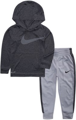 Nike Toddler Boys' Dri-FIT Swoosh Hoodie and Pants Set