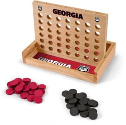 Wild Sports University of Georgia Table Top 4-in-a-Row Game