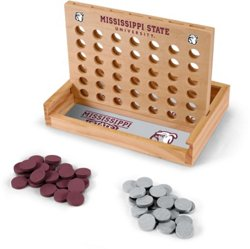 Wild Sports Mississippi State University Table Top 4-in-a-Row Game
