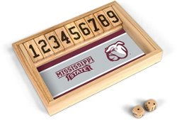 Wild Sports Mississippi State University Table Top Shut the Box Game