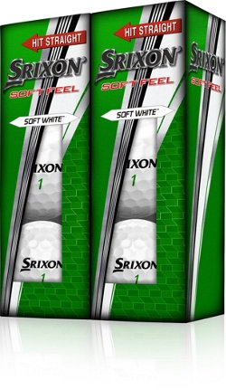 SRIXON Soft Feel Golf Balls 6-Pack