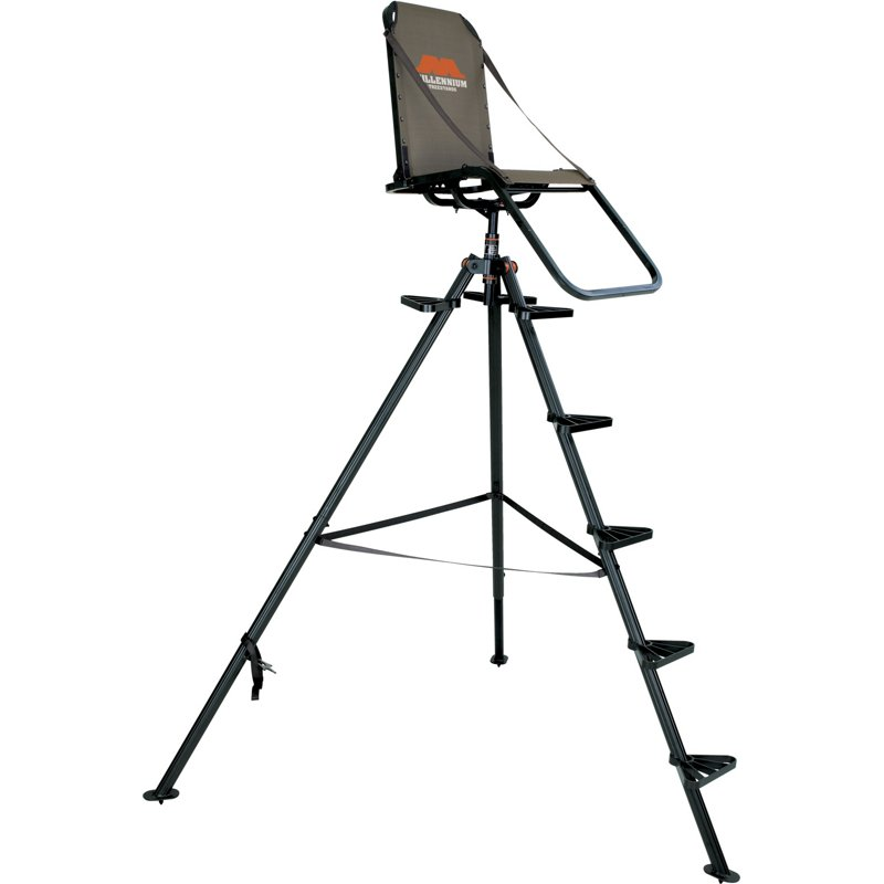 Millennium T-100 10 ft Ultralite Tripod Stand - Hunting Stands/Blinds/Accessories at Academy Sports thumbnail