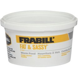 Fat and Sassy Worm Food 8 oz Cup