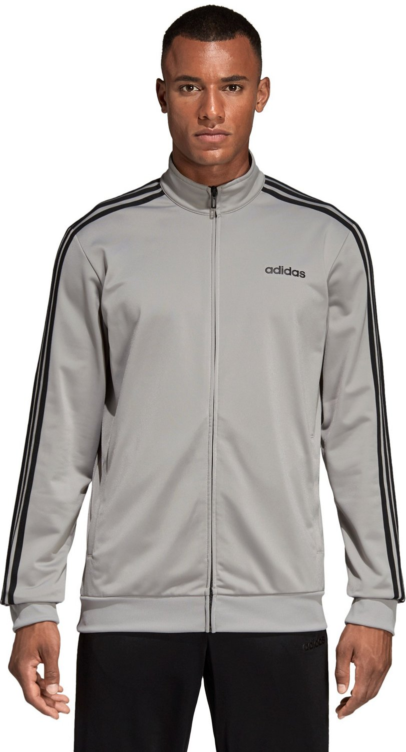 d56962bedae2a adidas Men s Essential 3-Stripes Tricot Track Jacket