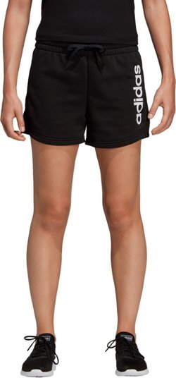 adidas Women's Essentials Linear Shorts 3 in