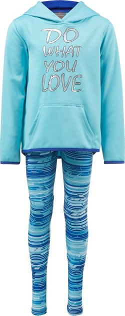 Cheetah Toddler Girls' Poly Performance Fleece Set