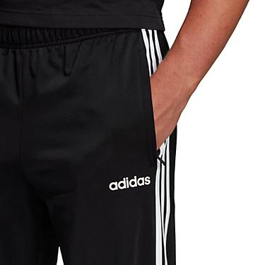 adidas Men's Essentials 3 Stripes Tricot Tapered Pants