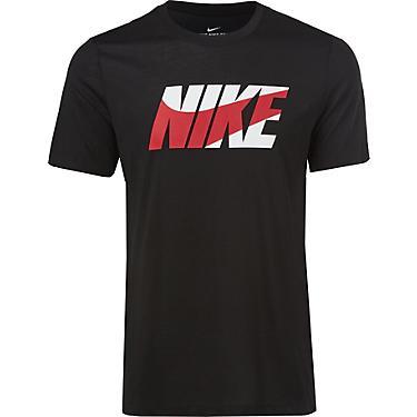 Nike Men AS Dri Wide Run Training T-Shirts S//S White Jersey Tee Shirt AQ5132-100