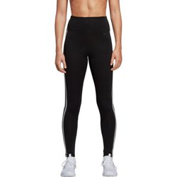 adidas Women's Design 2 Move 3-Stripes High Rise Long Tights