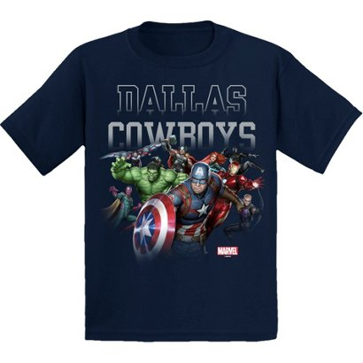 2fcc9f8cd Dallas Cowboys Boys  Marvel Avengers Team Rush T-shirt