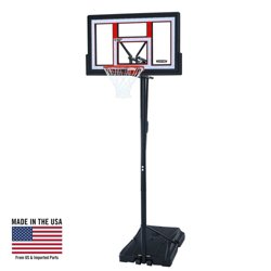 "50"" Makrolon® Portable Basketball Hoop"