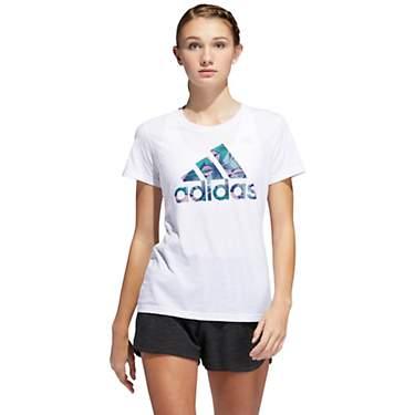 938daf67104a adidas Women's Tropical Badge of Sport T-shirt