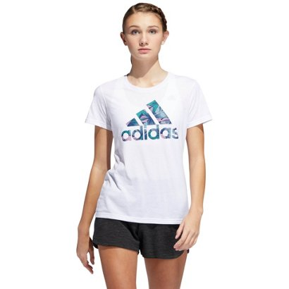 258d51978 ... adidas Women's Tropical Badge of Sport T-shirt. Women's Shirts & Tops.  Hover/Click to enlarge