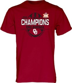 Blue84 Men's University of Oklahoma 2018 Big 12 Champions Locker Room T-Shirt